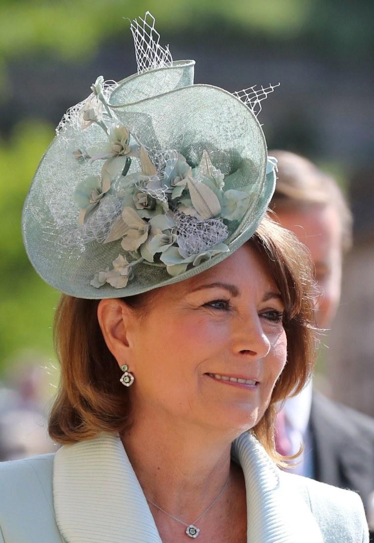 Carole Middleton at royal wedding