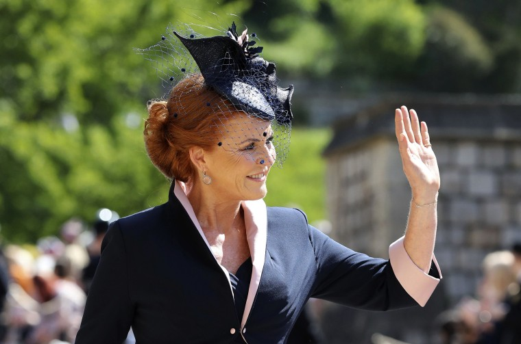 Sarah Ferguson at royal wedding