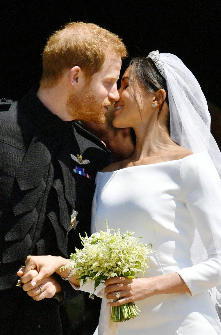 The wedding bouquet of Duke and Duchess of Sussex
