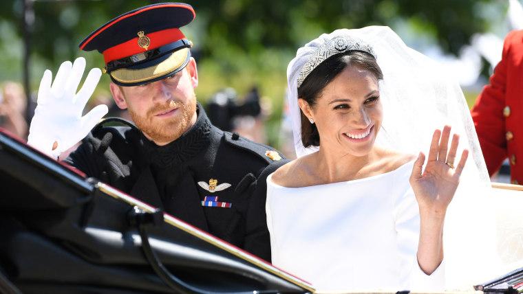 Prince Harry and Meghan leave Windsor Castle