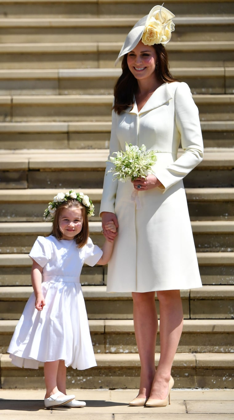 Duchess Kate at the Royal Wedding of Prince Harry, Meghan Markle