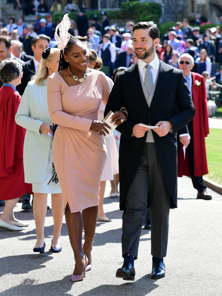 Serena Williams Wore Sneakers To A Royal Wedding Event