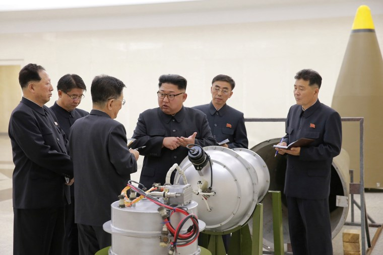 Image: North Korean leader Kim Jong Un provides guidance on a nuclear weapons program