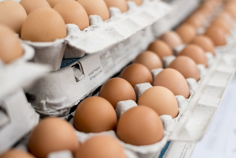 Most experts say it's OK to eat an average of just under one egg per day.