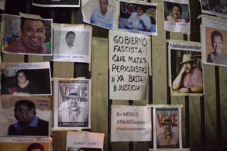 Image: Mexican Journalists, killings