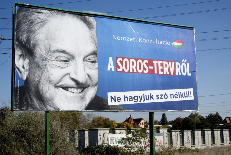 Image: George Soros was villified by right-wing parties in Hungary's recent election.