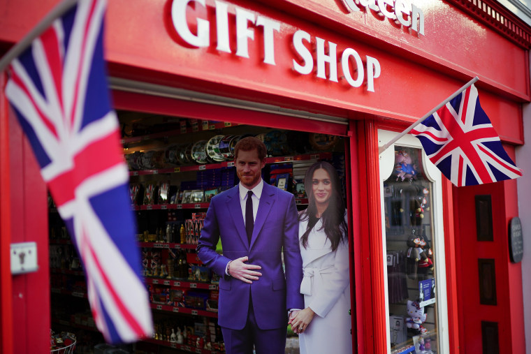 Image: Preparations for Royal Wedding of Harry and Meghan