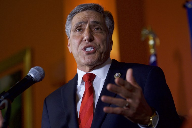 Image: GOP Senate Candidate In Pennsylvania Rep. Lou Barletta Addresses Supporters After Results Of  State's Primary Election Announced