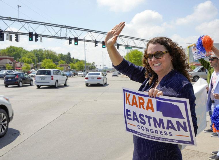 Image: Kara Eastman Nebraska Primary