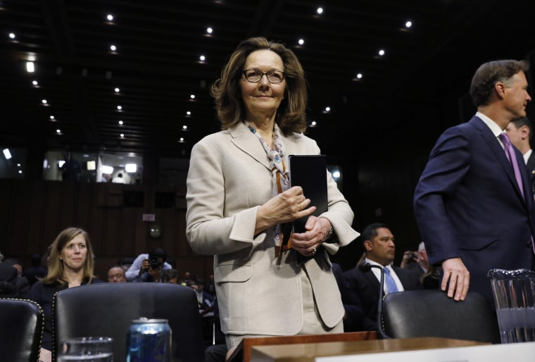 Image: CIA director nominee Gina Haspel