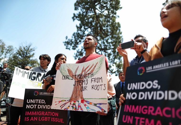 Image: DACA protestors