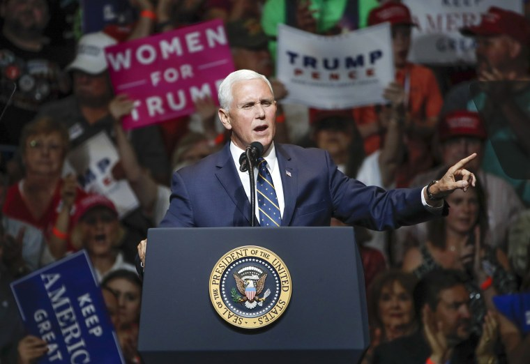 Image: Vice President Mike Pence in Elkhart