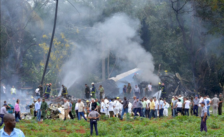 Image: CUBA-AIR-ACCIDENT