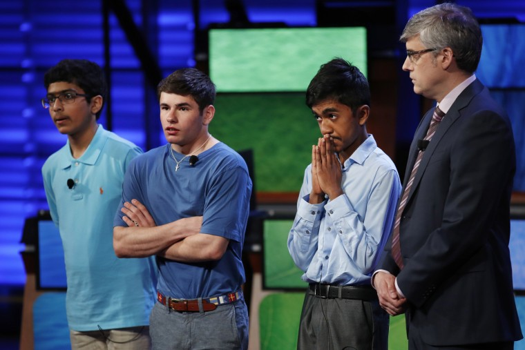 National Geographic Bee contestants in 2017