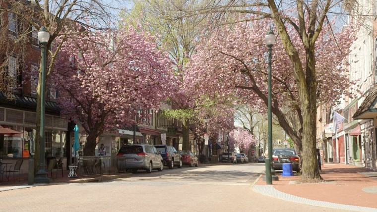 Image: Downtown West Chester, Pennsylvania.