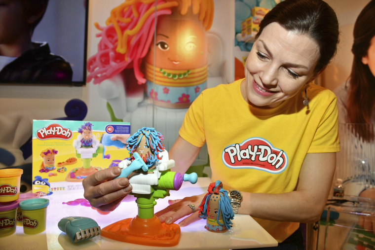 Image: Play-Doh display