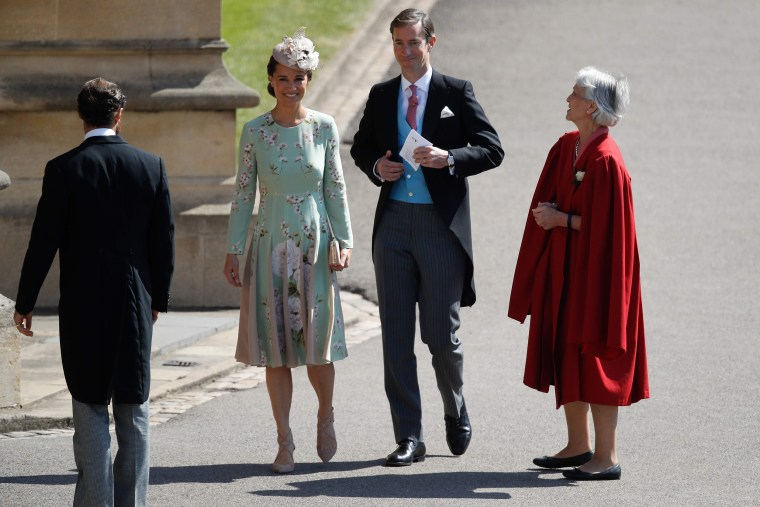 Image: BRITAIN-US-ROYALS-WEDDING-GUESTS