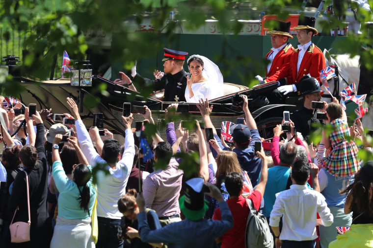 Image: Prince Harry Marries Ms. Meghan Markle - Procession
