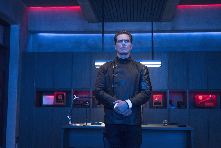 Image: Michael Shannon in HBO's Fahrenheit 451