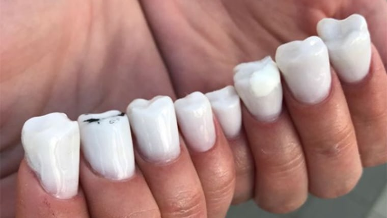 Molar Nails Are The Creepy New Nail Trend Taking Over Instagram