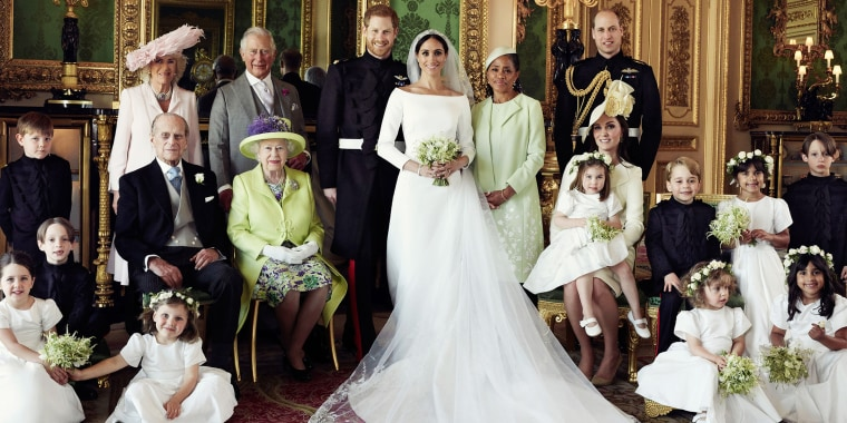 Royal wedding official photographs