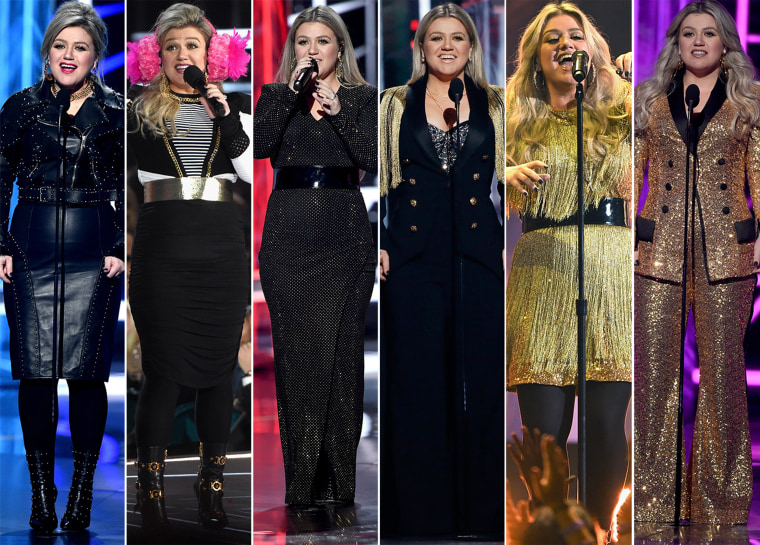 Kelly Clarkson Billboard Awards outfits