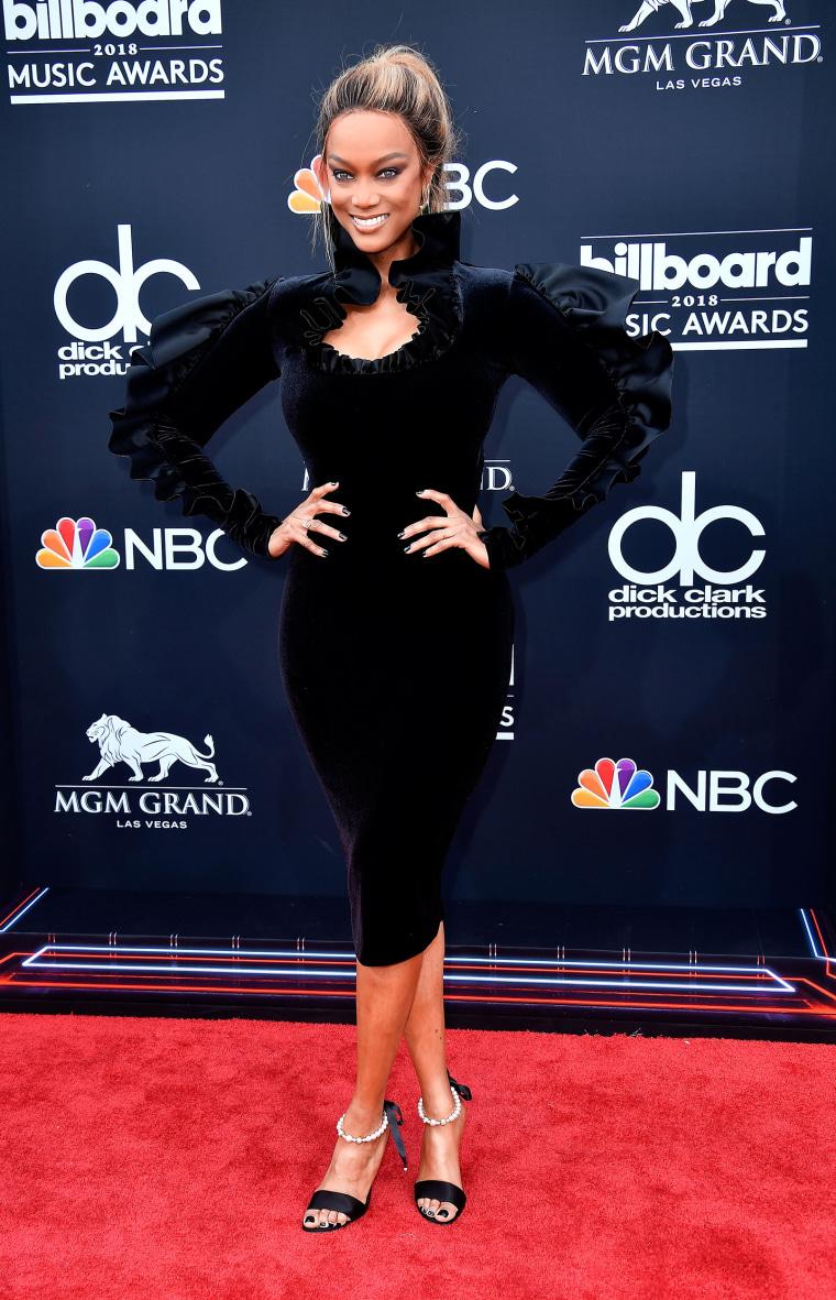Tyra Banks 2018 Billboard Music Awards - Arrivals