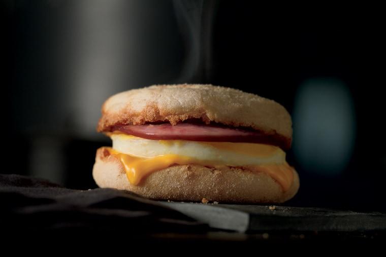 McDonald's Egg McMuffin celebrates 45 years.