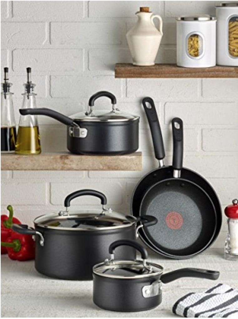 T-fal Titanium Advanced Nonstick Cookware Set