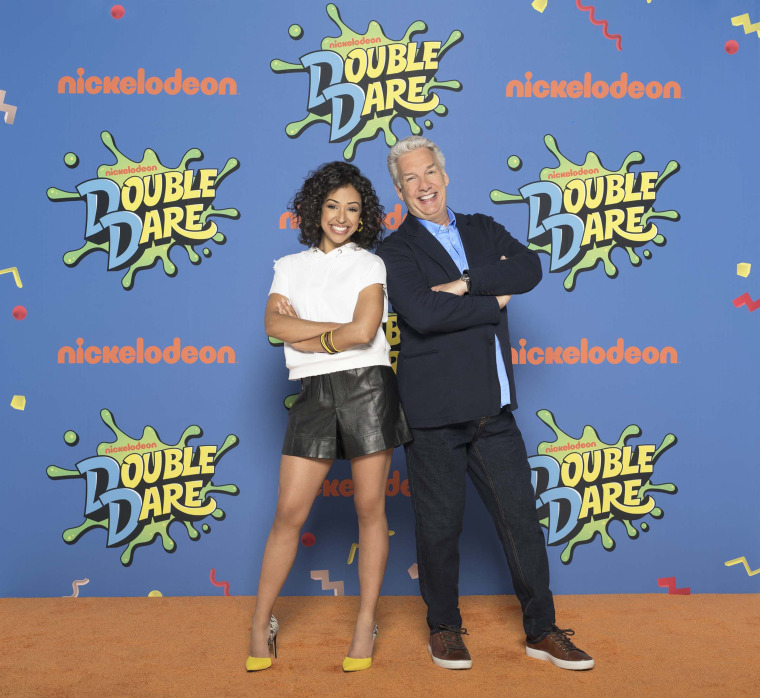 """Marc Summers and Liza Koshy will take part in Nickelodeon's """"Double Dare"""" reboot"""