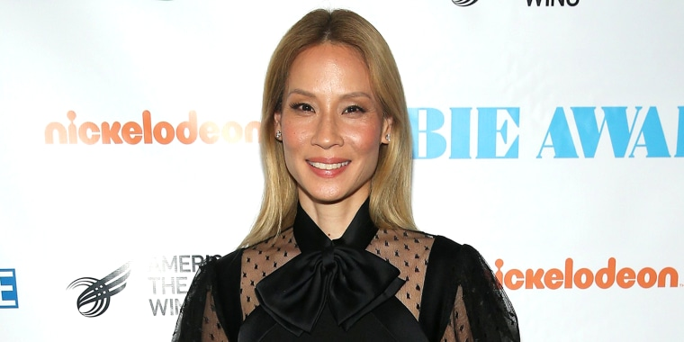 Lucy Liu is living life on the blond side!