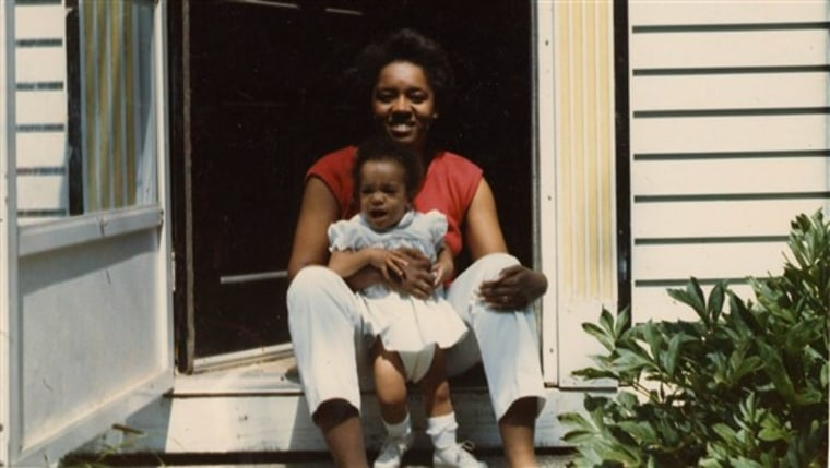 Although my mom was African-American and people thought I looked like I was too, I didn't see myself as only one race.