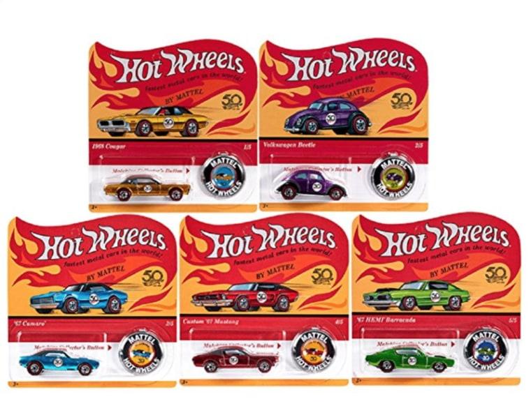 Hot Wheels 50th Anniversary Series