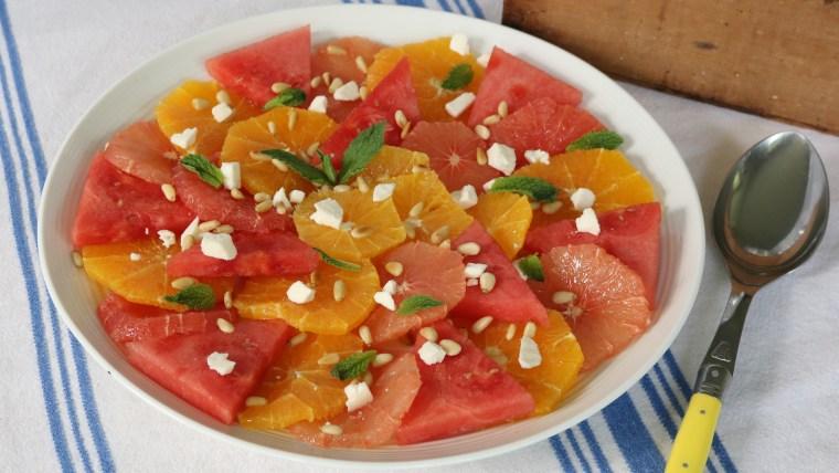 Zesty Summer Citrus Salad