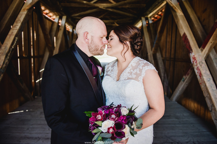 Eric and Holly were married on April 28, 2018.