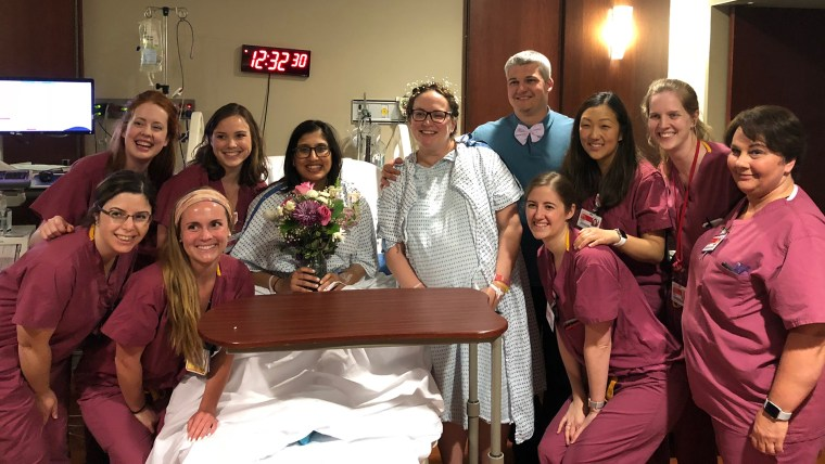 wedding-while-in-labor