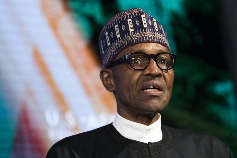 Image: Nigeria's Muhammadu Buhari, pictured in 2016.