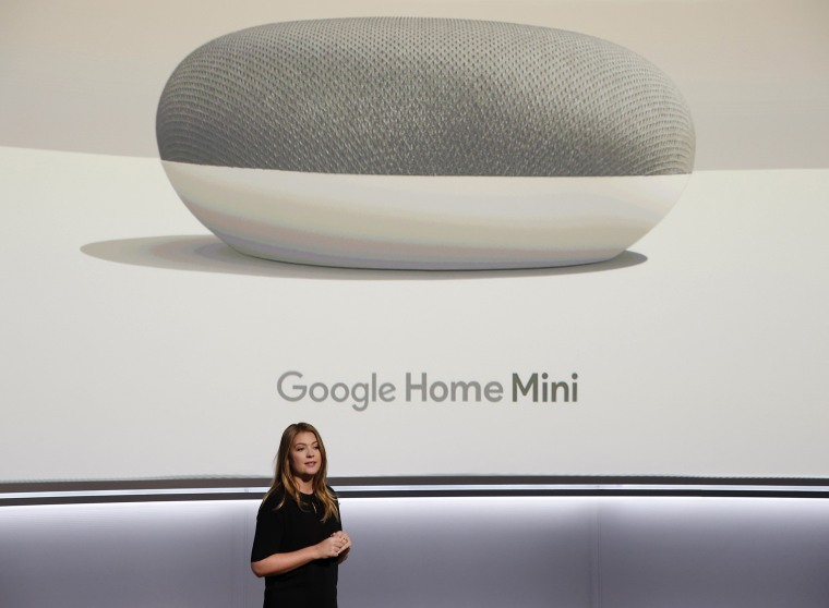 Image: Google's Olsson speaks during a launch event in San Francisco