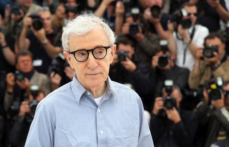 Image: Woody Allen at Cannes in 2016