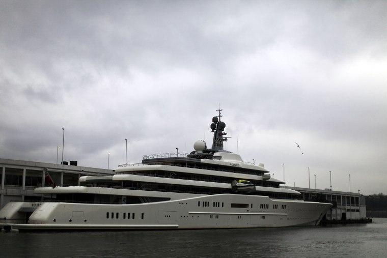 Image: Roman Abramovich yacht