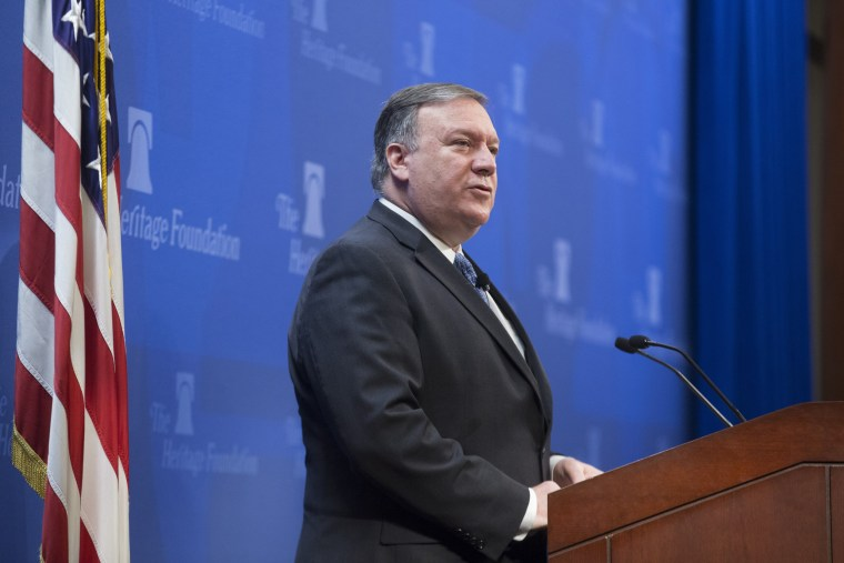 Mike Pompeo delivers remarks on Iran at the Heritage Foundation