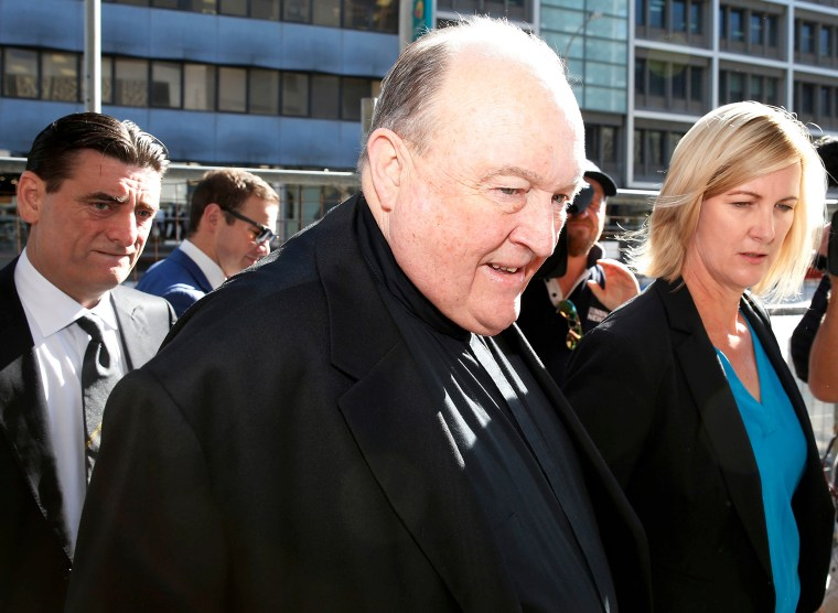 Image: Australian Archbishop Convicted of Child Sex Abuse Cover-Up