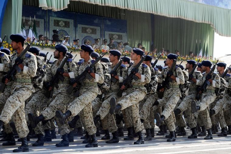 Image: Iranian Revolutionary Guards