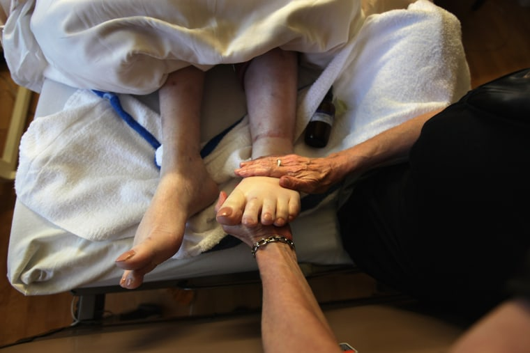 Image: Hospice Cares For Terminally Ill During Final Stage Of Life