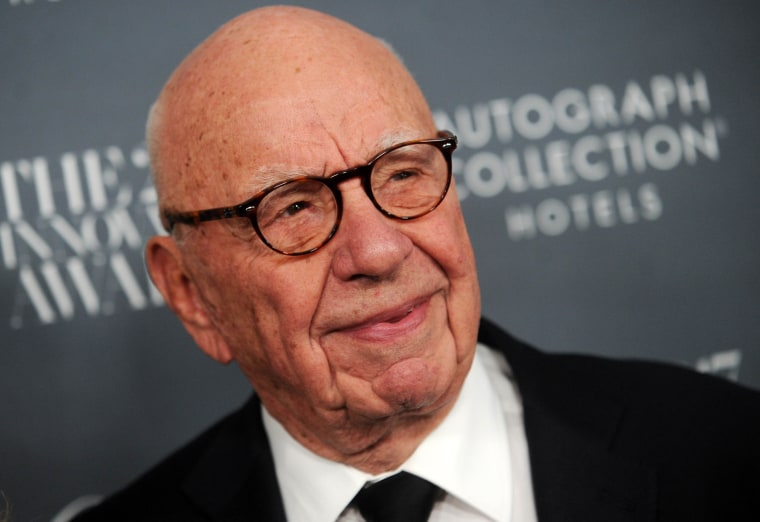Rupert Murdoch, chairman of Twenty-First Century Fox, in New York last year.