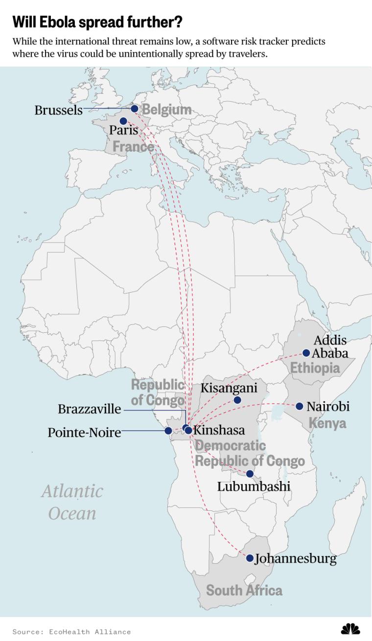 Will Ebola spread further?