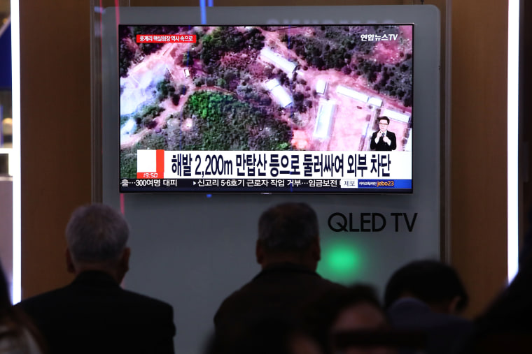 Image: South Korea Reacts To North Korea Dismantling Nuclear Test Facility