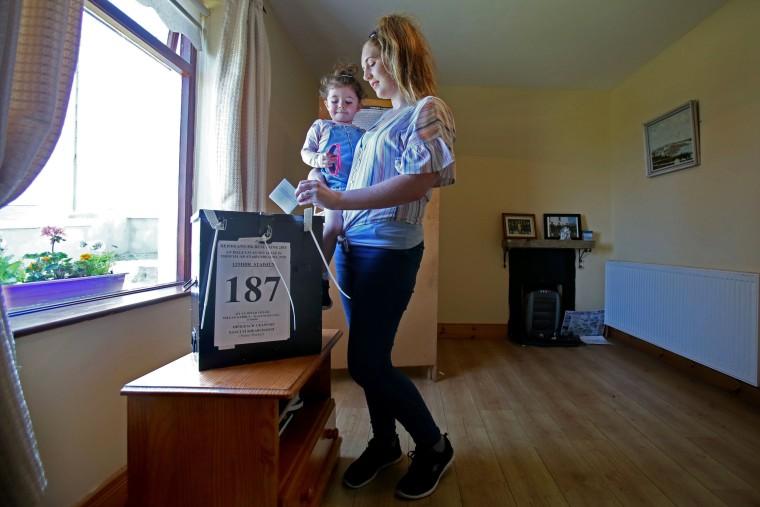 Image: Ireland abortion referendum
