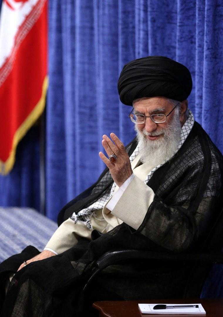 Image: Iran's Supreme Leader Ali Khamenei