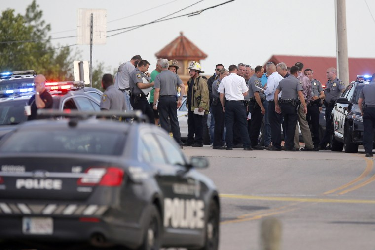 Image: Oklahoma City shooting